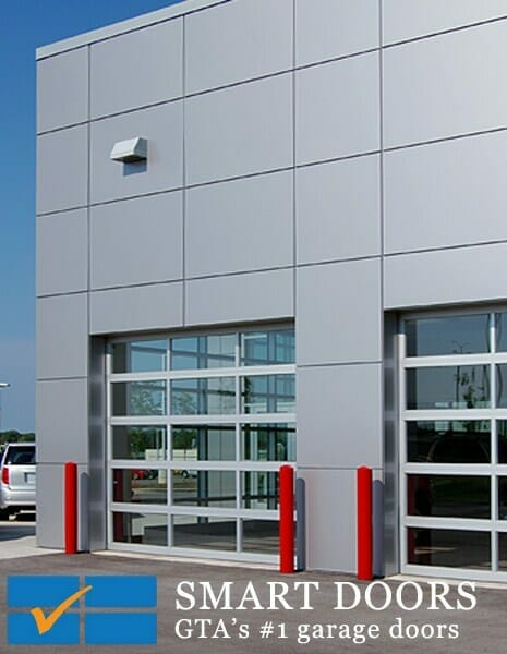how glass garage doors differ from other types