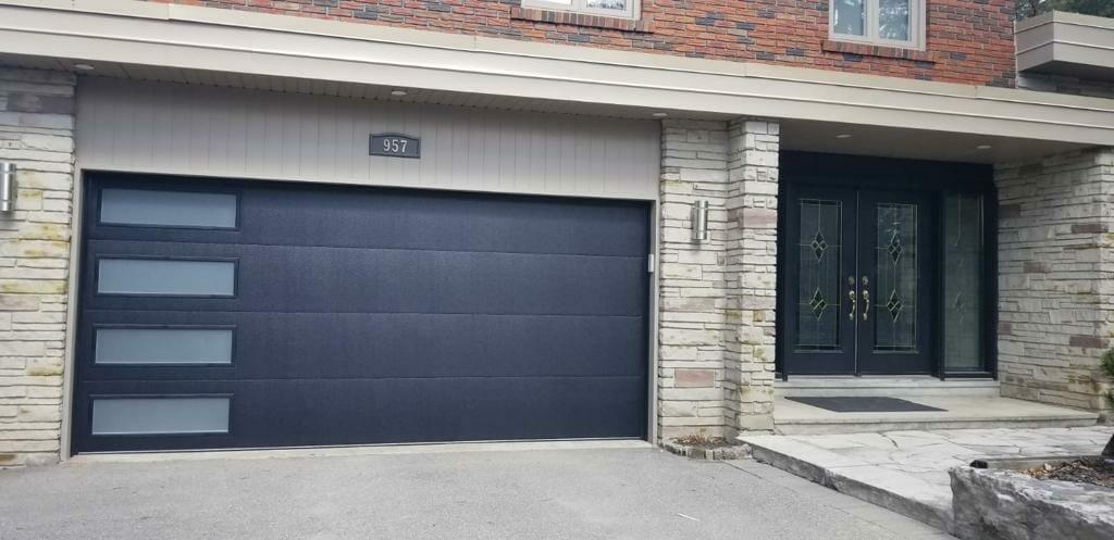 fiber glass garage door by smart doors